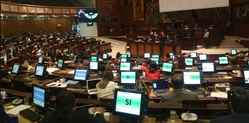 Ley de Extinción de Dominio se aprueba en la Asamblea Ecuatoriana